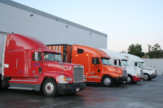 J&E Trucks ready to load!