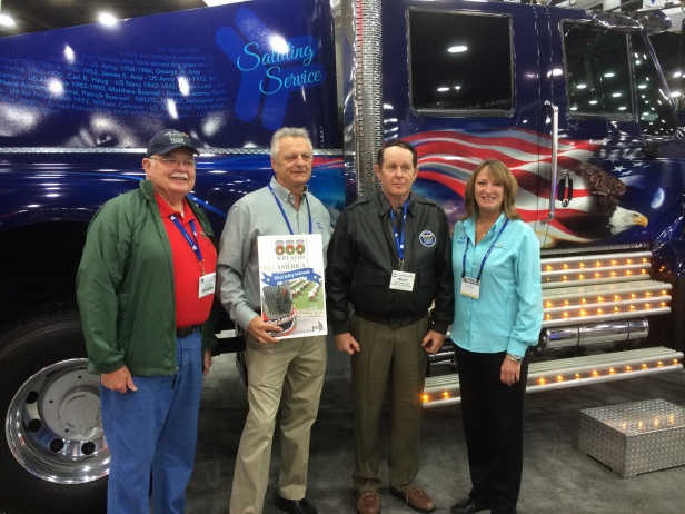 ALC Meets with Wreaths Across America Execs at MATS 2014